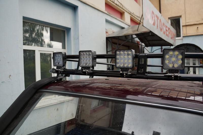 Багажник экспедицоинный на Ниве 21214