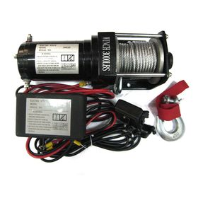 Лебедка для квадроцикла ATV Electric Winch 12v, 3000LBS