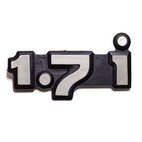 Эмблема задняя Нива 21213 1.7 i