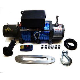 Лебедка автомобильная электрическая RUNNINGMAN 12000 12V с синтетическим тросом