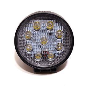 Светодиодная фара LED WORKING LIGHT T-2 - 27W - дальний (9 чипов) круглая