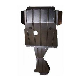 Защита картера, КПП и раздаточной коробки усиленная Шевроле Нива 2123 «Броня»